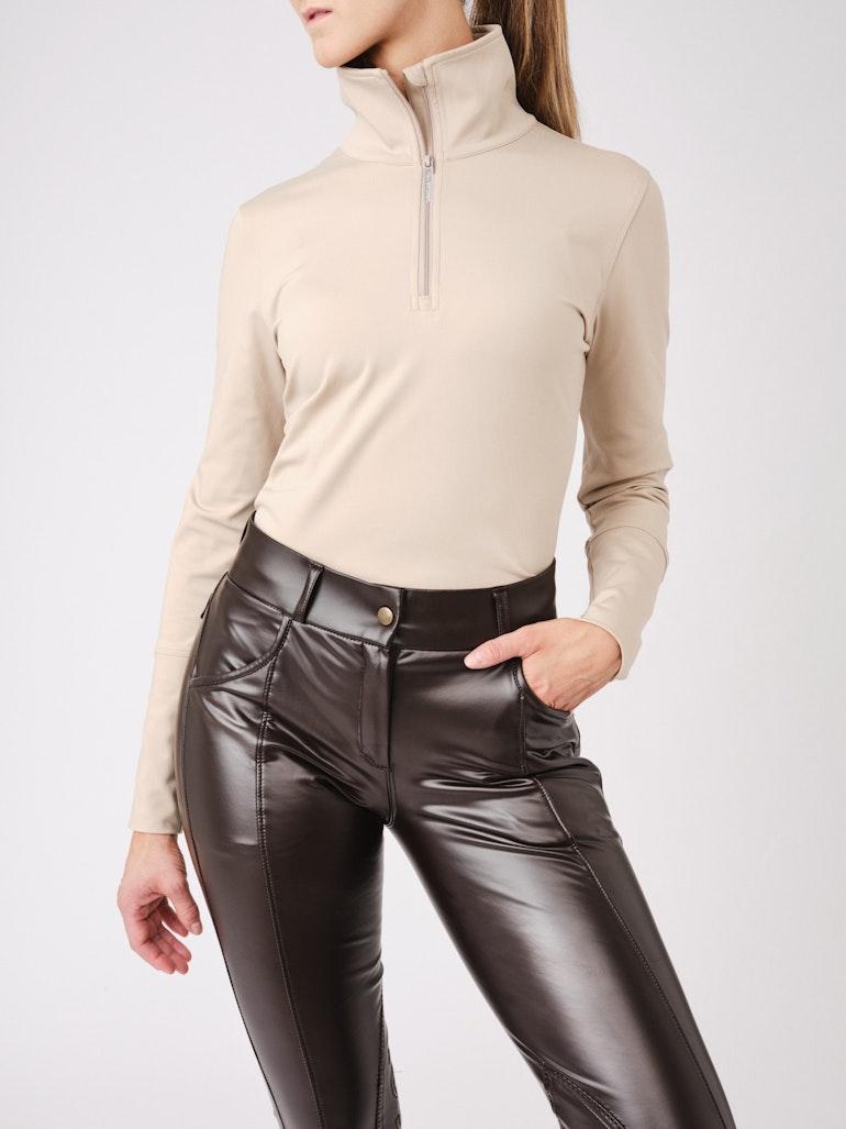 How to wear it Grace Half Zip Sweater