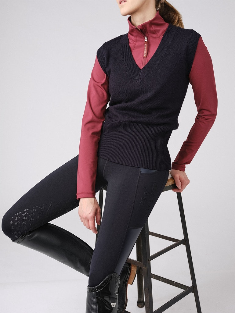 How to wear it Alex L/S Mock Neck