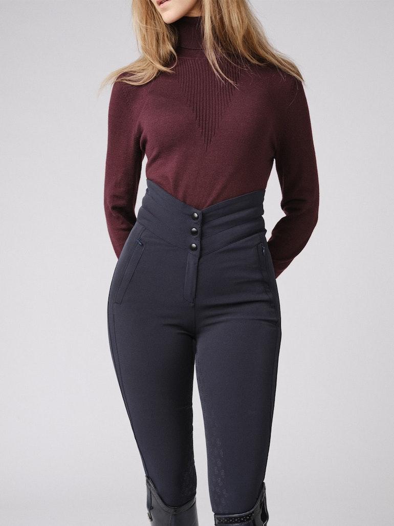 How to wear it Tara Fine Knit Sweater